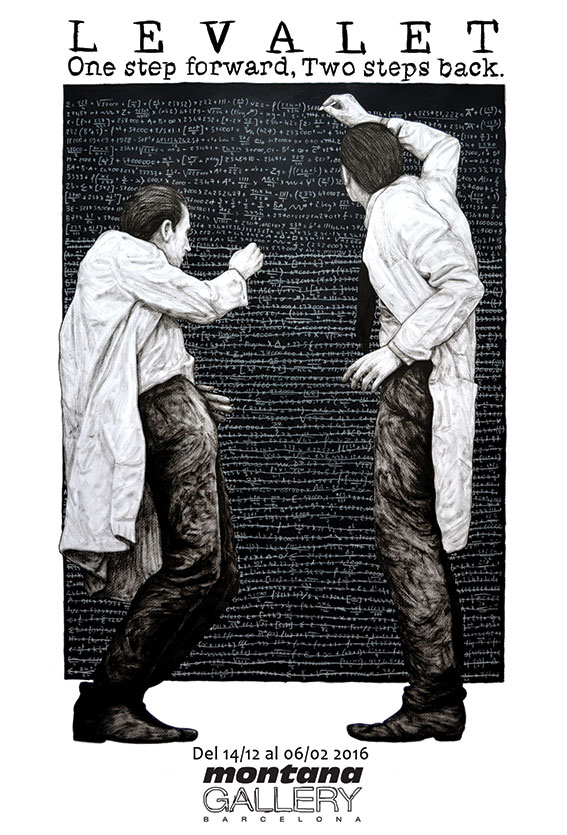 "LEVALET ""One Step Forward, Two Steps Back."""