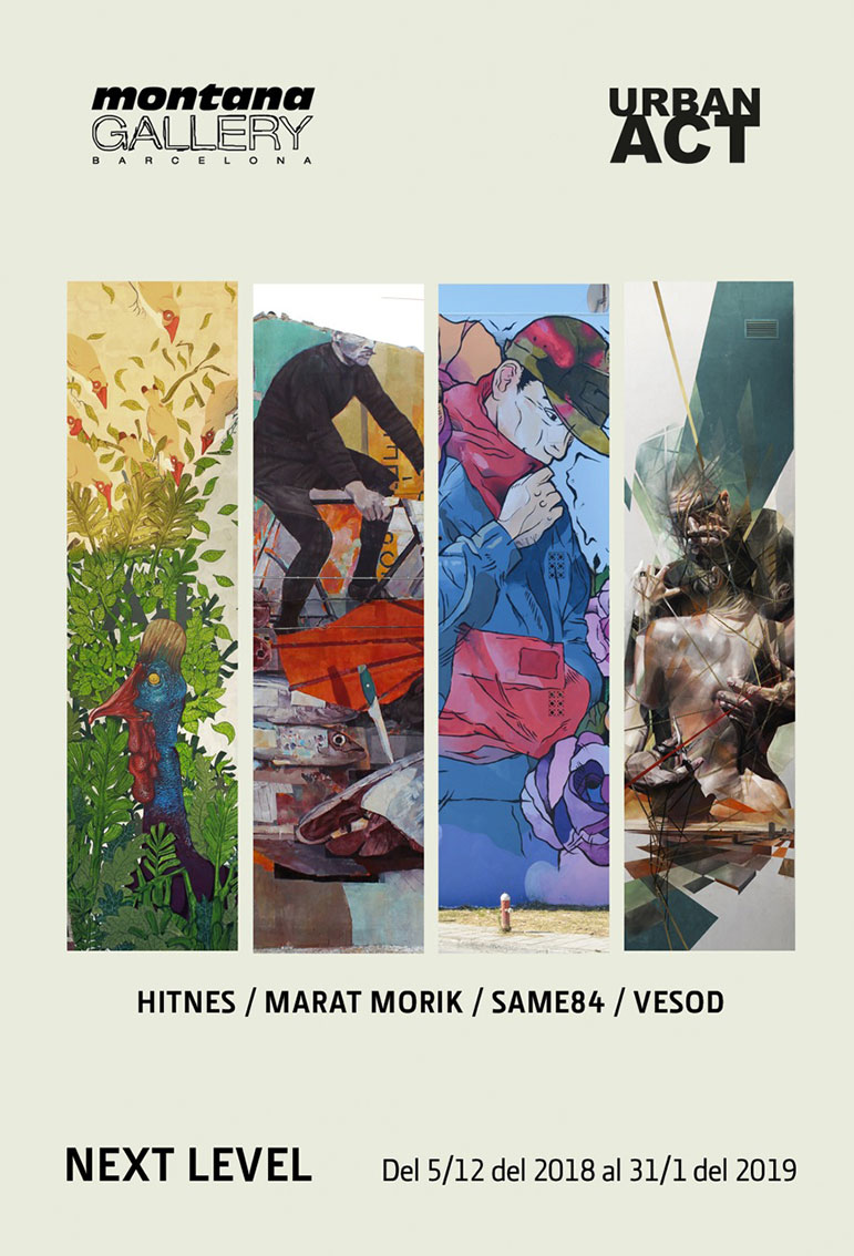 """Next Level"" Hitnes, Marat Morik, Same84, Vesod"